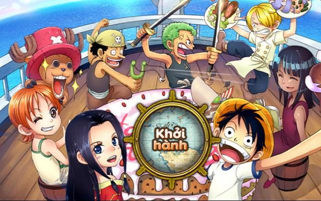Kho báu huyền thoại được xây dựng dựa trên bộ phim hoạt hình nổi tiếng One Piece