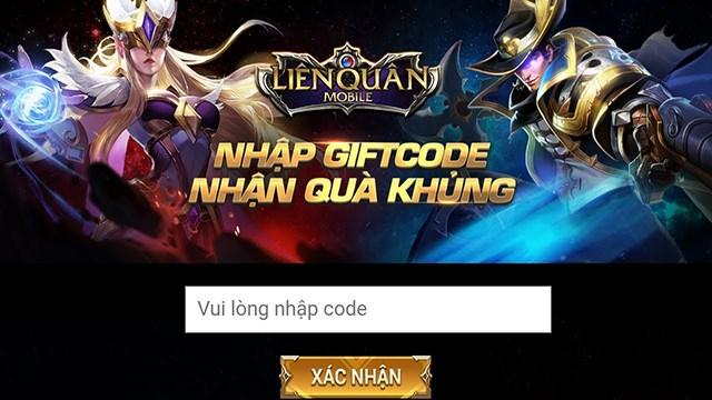 Nhập mã code Liên quân để nhận ngay những phần thưởng giá trị