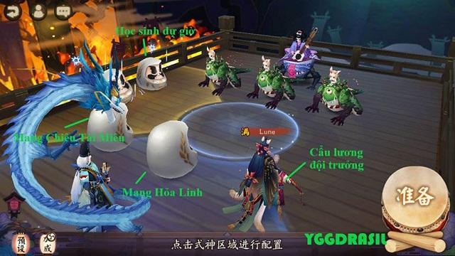 Tập trung tăng sao tăng hột cho thức thần khi tham gia game Âm Dương Sư