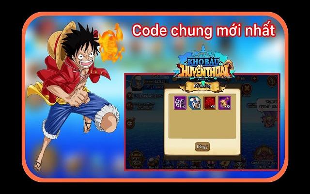 Tổng hợp những mã code game Kho báu huyền thoại mới nhất